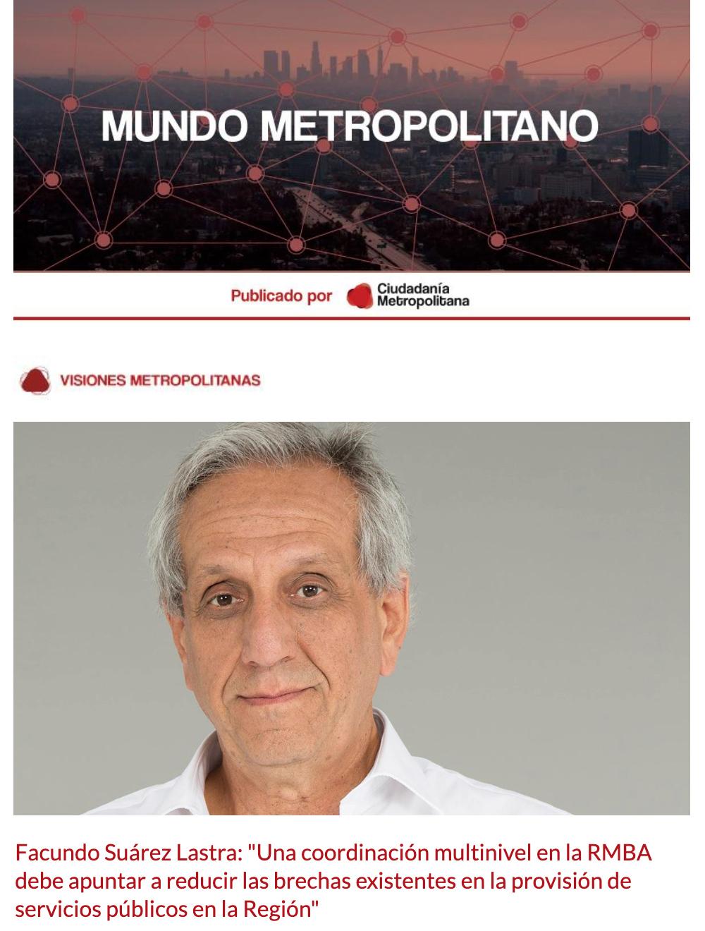 Newsletter Mundo Metropolitano 1