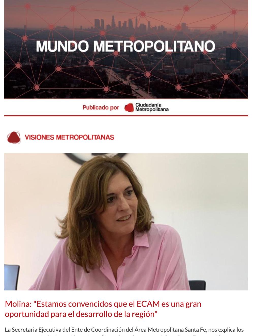 Newsletter Mundo Metropolitano 5