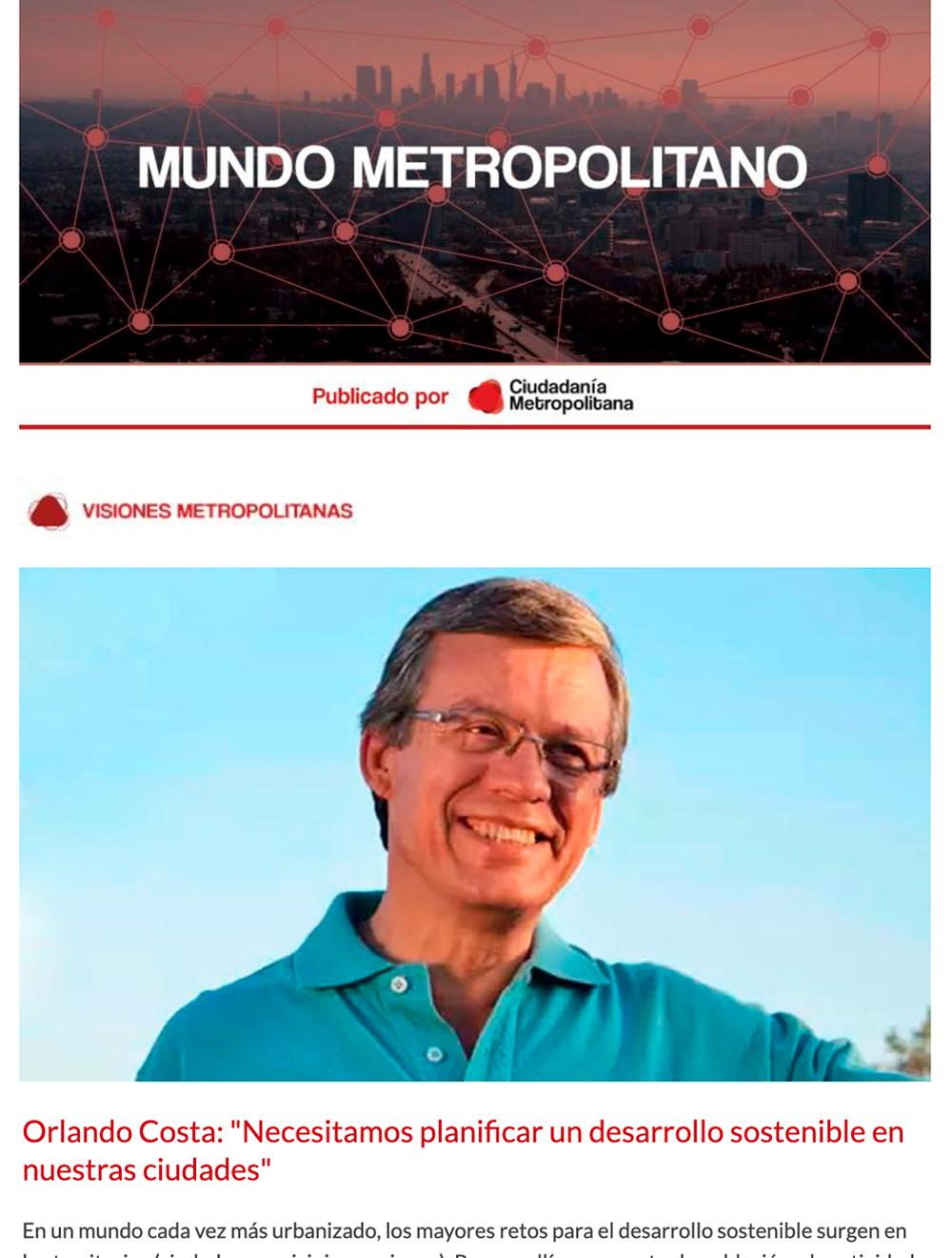 Newsletter Mundo Metropolitano 6